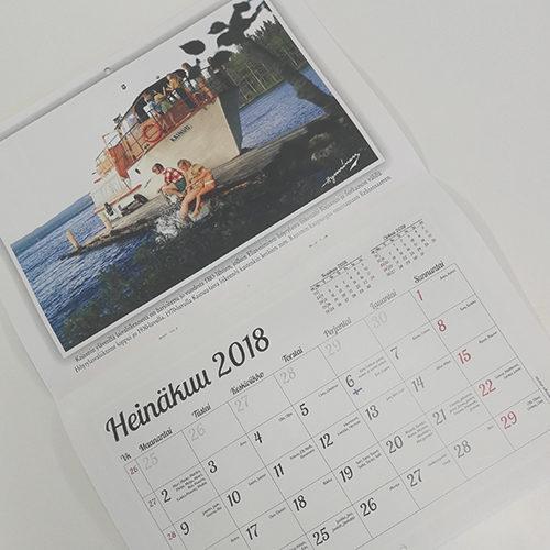Kuvatuotteet, Tuotteet omilla kuvilla, kalenteri, Kalenteri omalla kuvalla, Valokuvaamo, Kuvakeskus Hynninen, Valokuvaaja, Kajaani, Kuluttajille